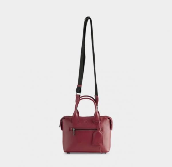 Bilde av MARKBERG ABRIELLE SMALL BAG, GRAIN SHOCKING RED W/BLACK